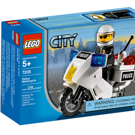Lego 7235 City Polizeimotorrad