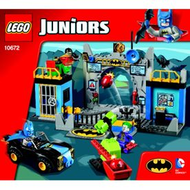 Lego 10672 Juniors Batcave