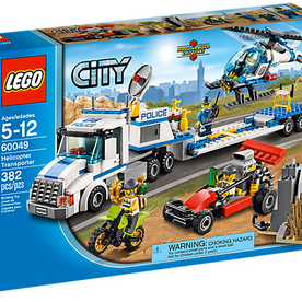 Lego 60049 City Polizei Heli-Transporter (002)