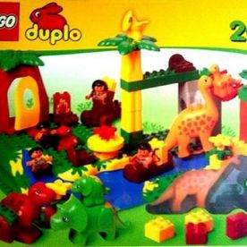 LEGO Duplo 2604 - Dino-World